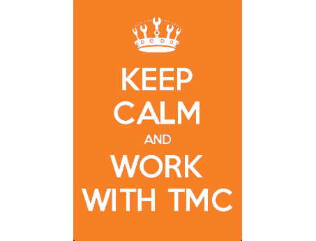 keep calm and work with TMC
