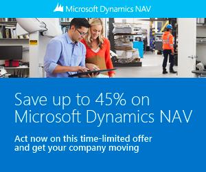 Dynamics NAV promotions