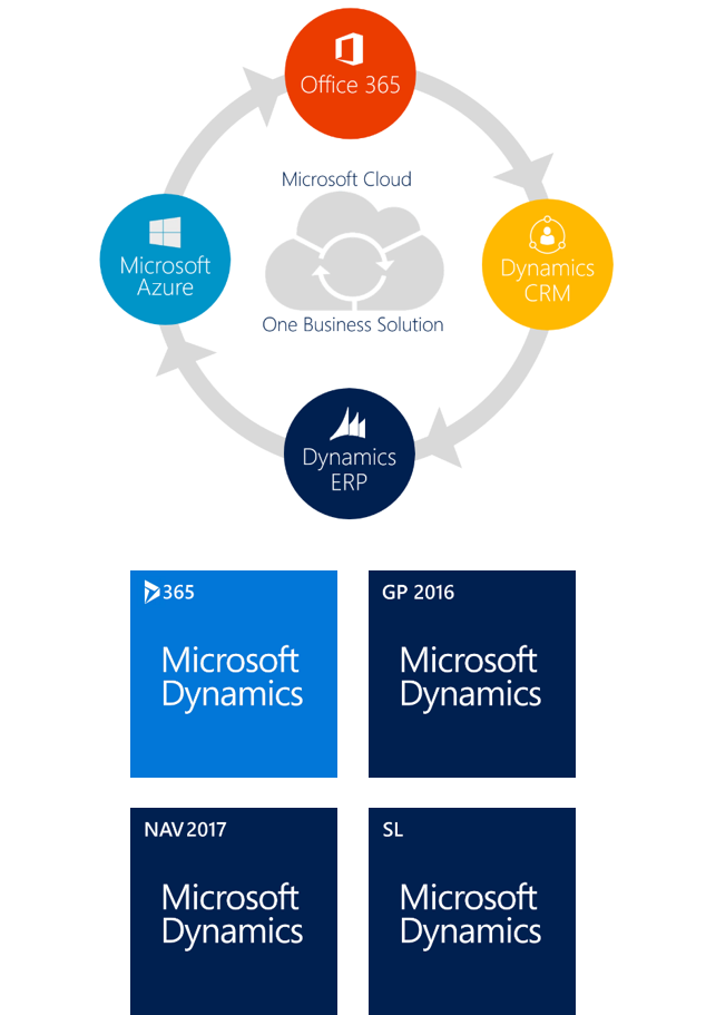 Microsoft Dynamics ERP - One Business Solution