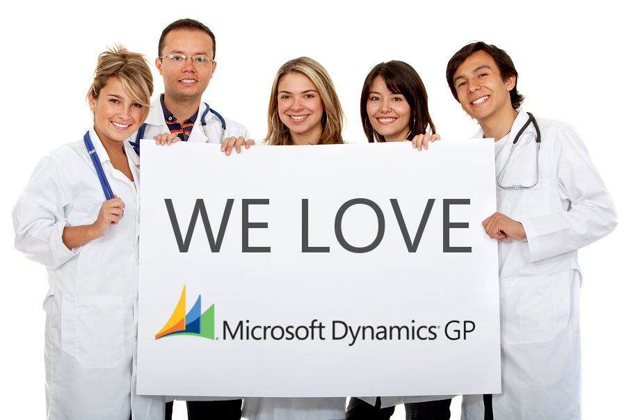 Dynamics GP implementation made easy for smaller physician groups, or large hospitals