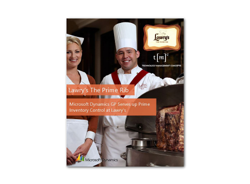 Lawry's The Prime Rib Case Study