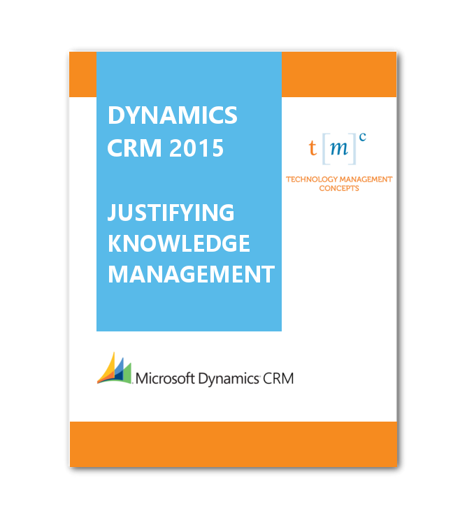Justifying knowledge Management
