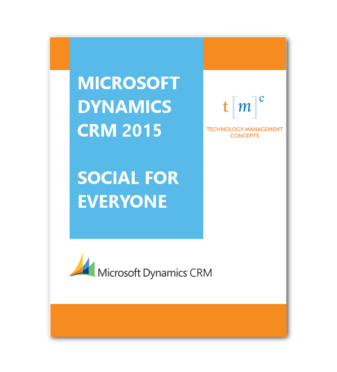 CRM 2015 Social for Everyone