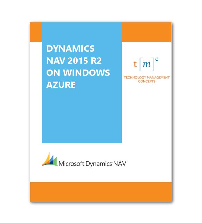 NAV 2013 R2 on Windows Azure