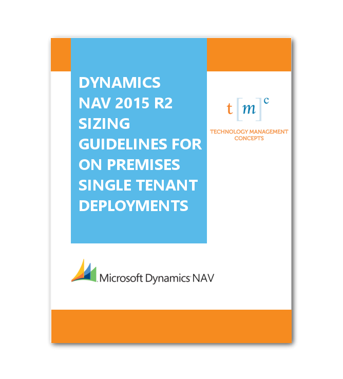 Sizing Guidelines for On Premises Single Tenant Deployments
