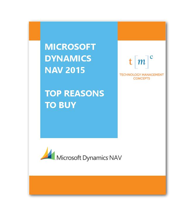 NAV 2015 Top Reasons to Buy