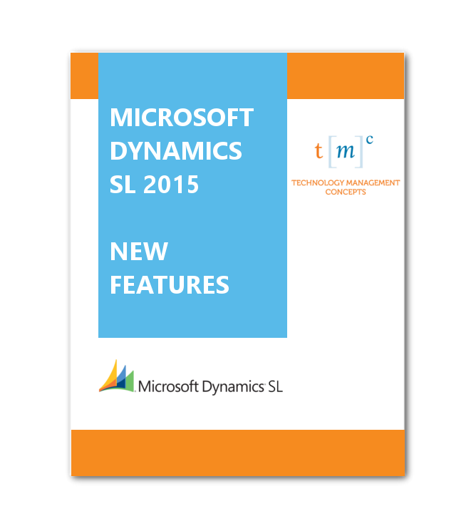 SL 2015 New Features