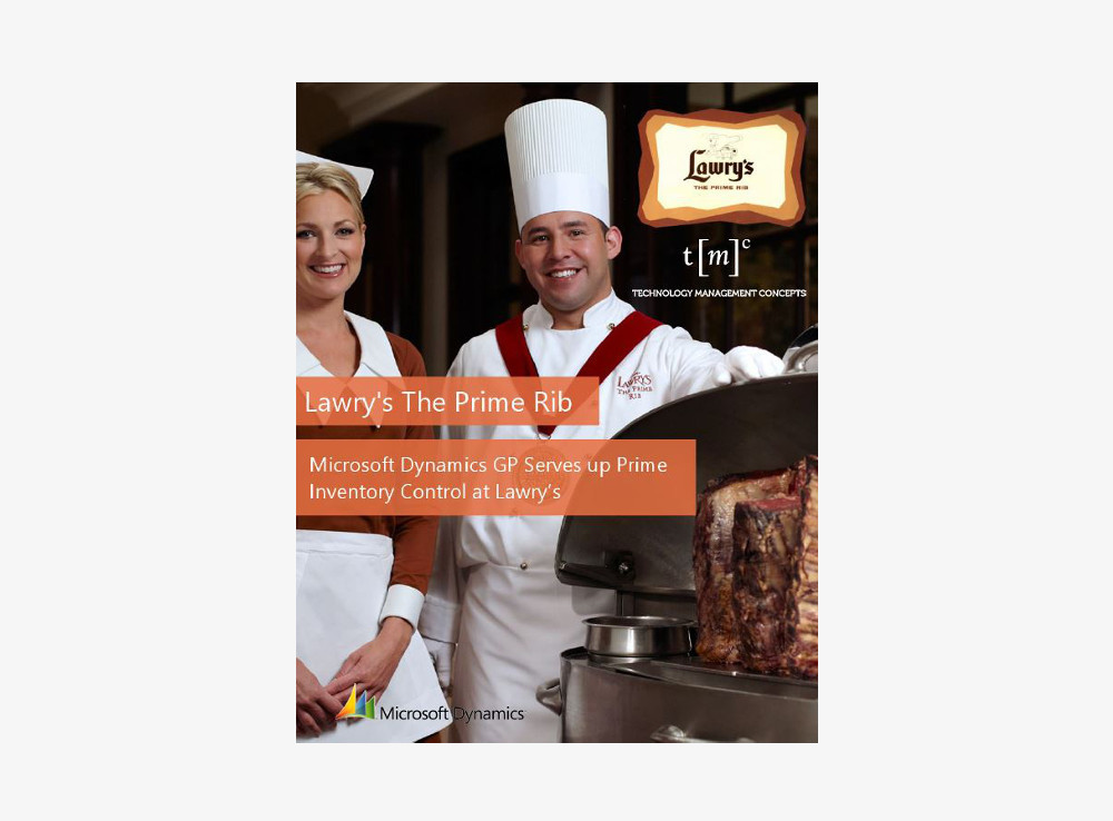 Lawry's The Prime Rib Restaurant ERP