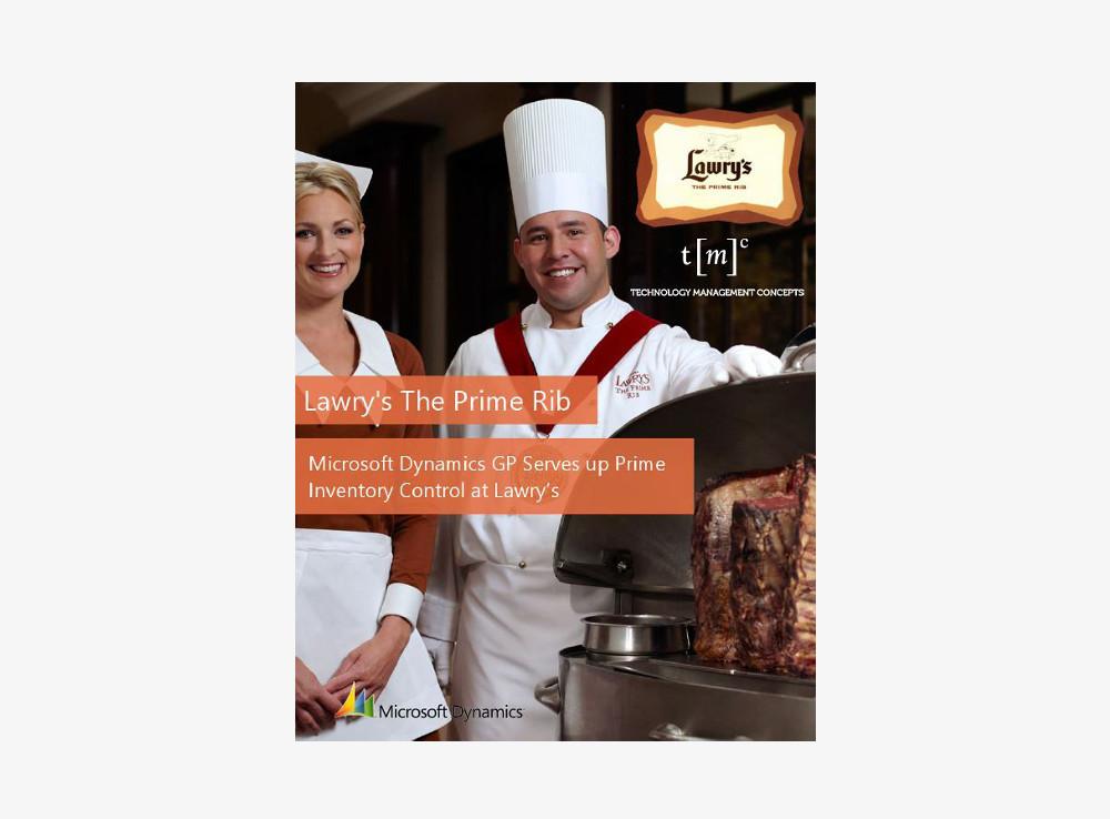 Lawry's The Prime Rib Restaurant ERP