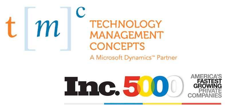 TMC ERP Vendors inc 5000 logo