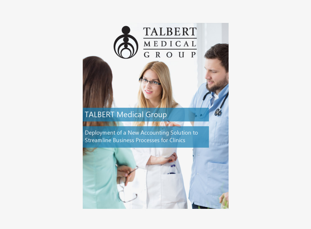 Talbert Medical Group Healthcare ERP