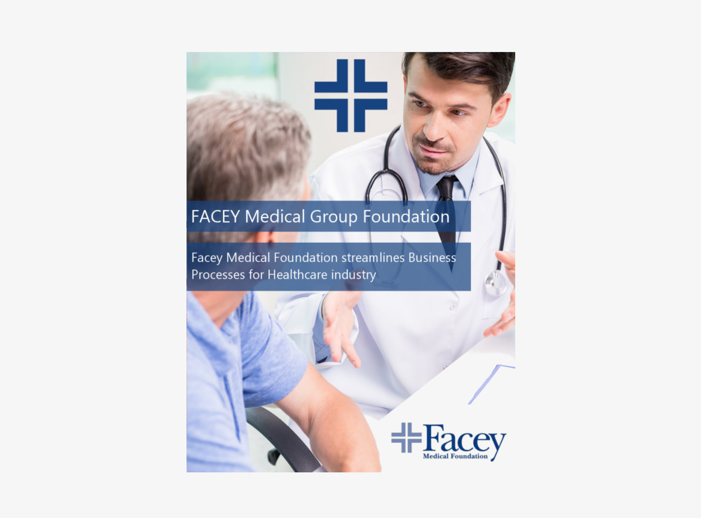 Facey medical group Healthcare ERP