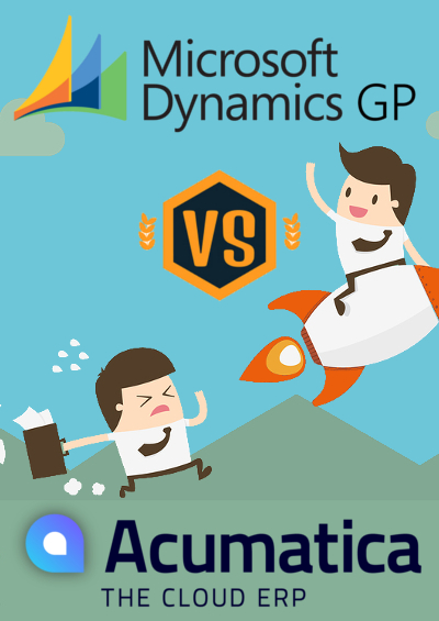 Dynamics GP vs Acumatica - Sidebar