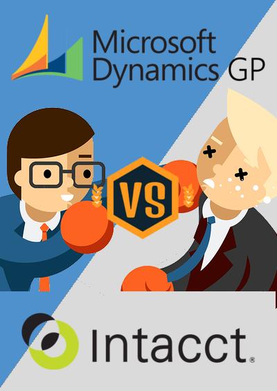 Dynamics GP vs Intaact - Sidebar