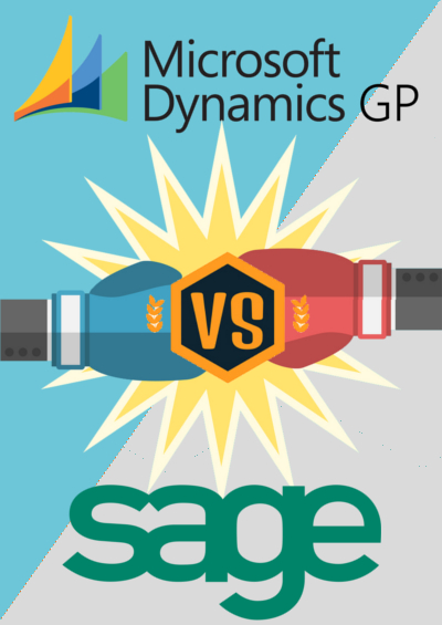 Dynamics GP vs Sage - Sidebar