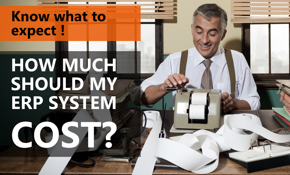 [eBook] How Much Should My ERP Solution Cost?