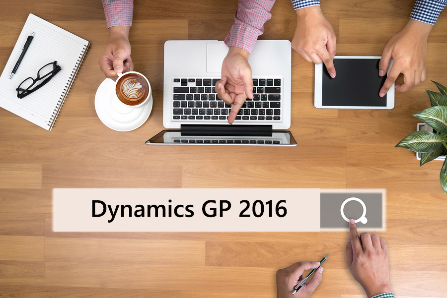 Dynamics GP 2016 - A Horizontal ERP Software With Vertical-Specific Capabilities
