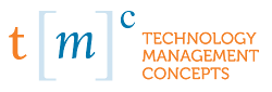 Technology Management Concepts Retina Logo