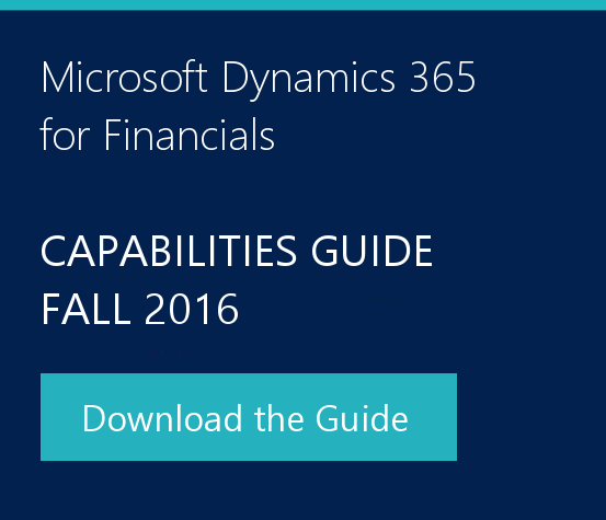 Dynamics 365 capabilities guide