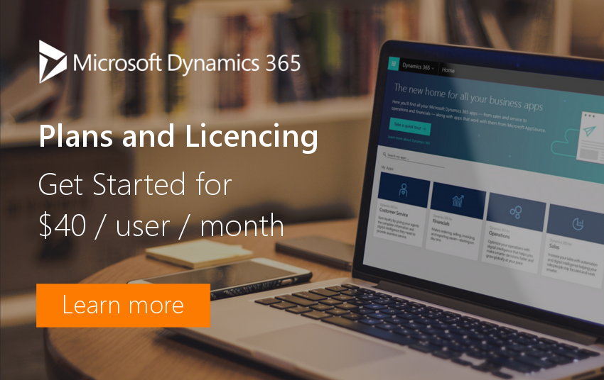 Dynamics 365 user license
