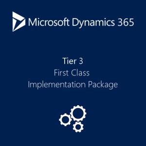 Dynamics 365 first class implementation plan