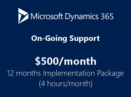 Tier4 Dynamics365 custom implementation