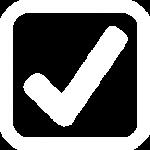 Check list icon white1