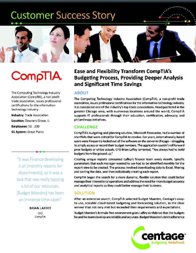 Comptia Case Study