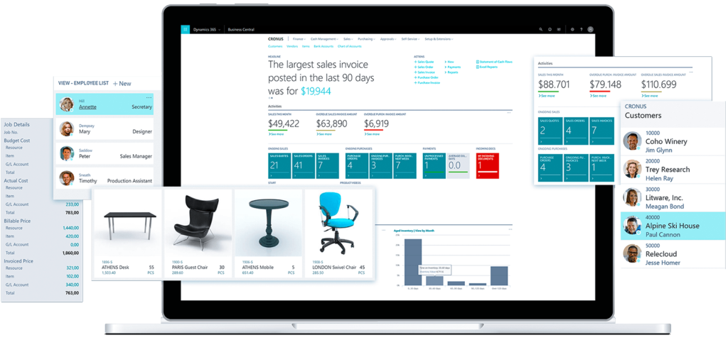 Dynamics 365 Business Central Visual