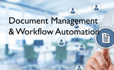 Workflow and document imaging