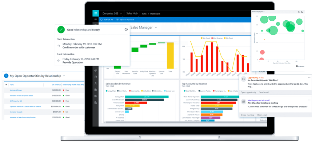 Dynamics 365 Sales CRM screenshot