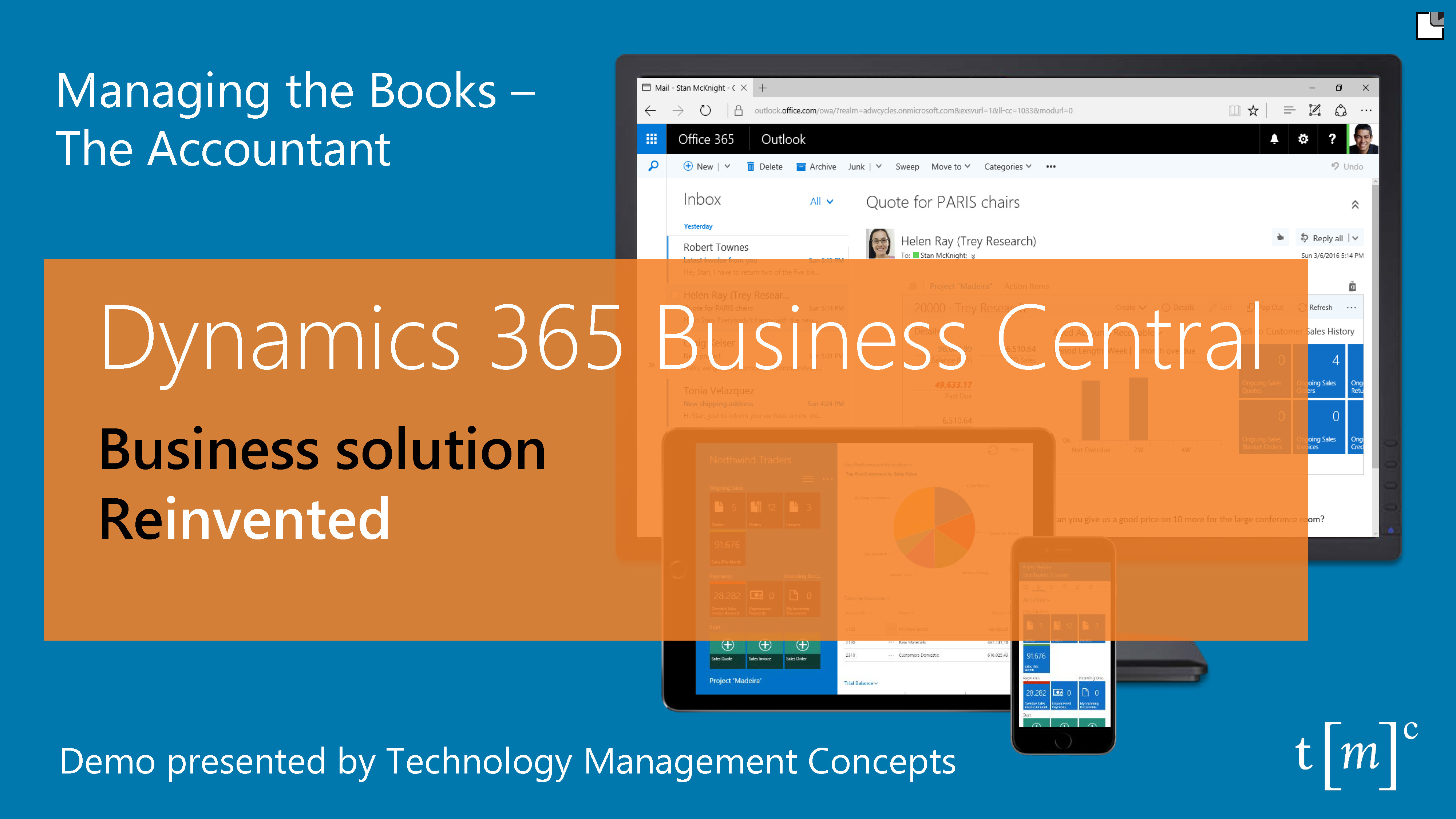 Dynamics 365 Business Central Demo for Accountant