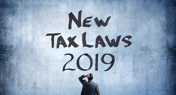 2019 New year, New tax laws and obligations