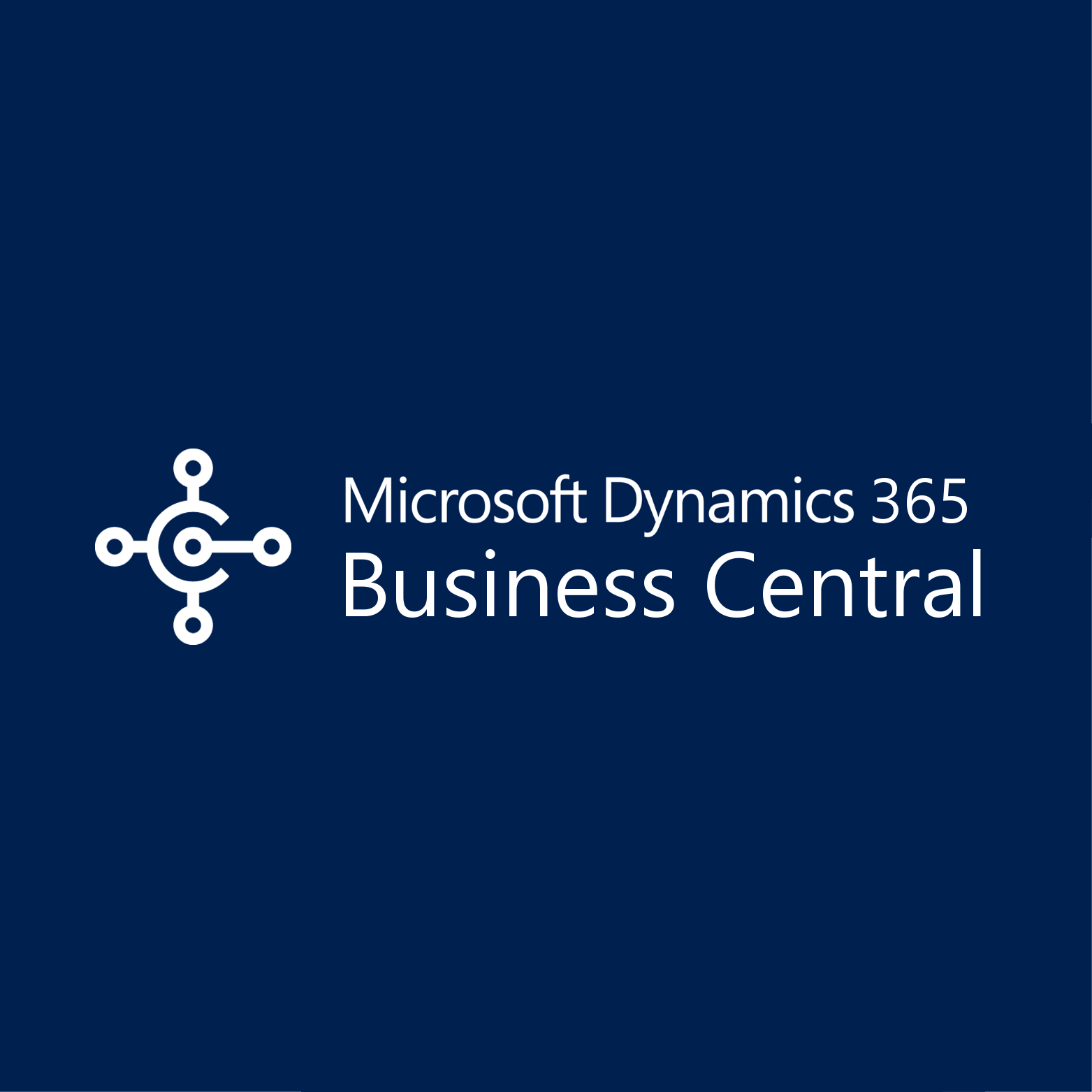 MS Dynamics 365 Business Central