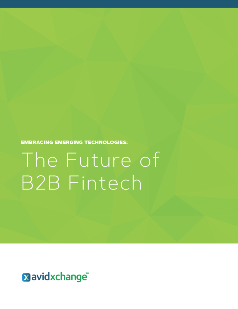 Embracing Emerging Technologies The Future of B2B Fintech