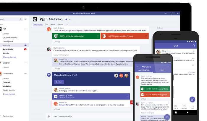 Microsoft Teams supports remote workers with free trial to work from home