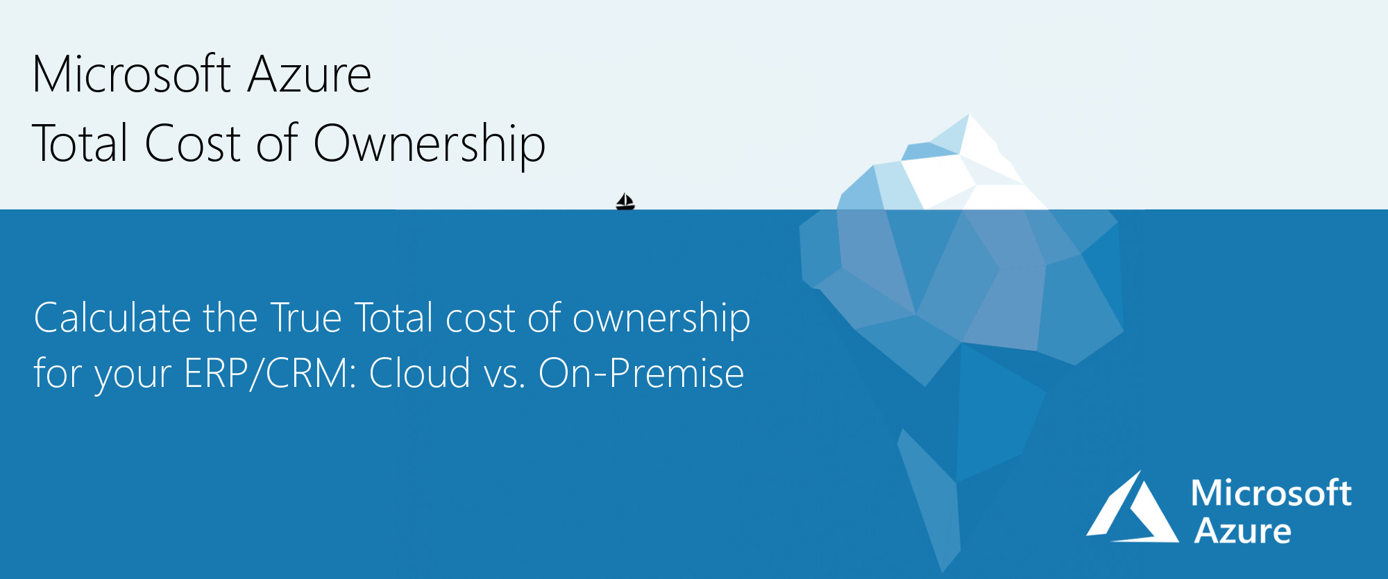 Microsoft Azure Total Cost of Ownership calculation
