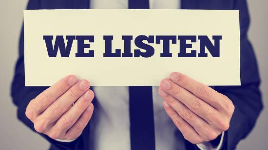 Customer Care TMC listen