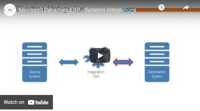 Microsoft Dynamics ERP system integration
