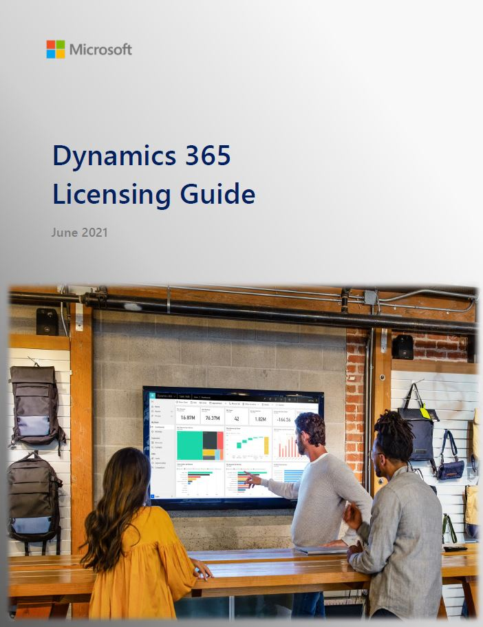 Dynamics 365 capabilities and licensing guide